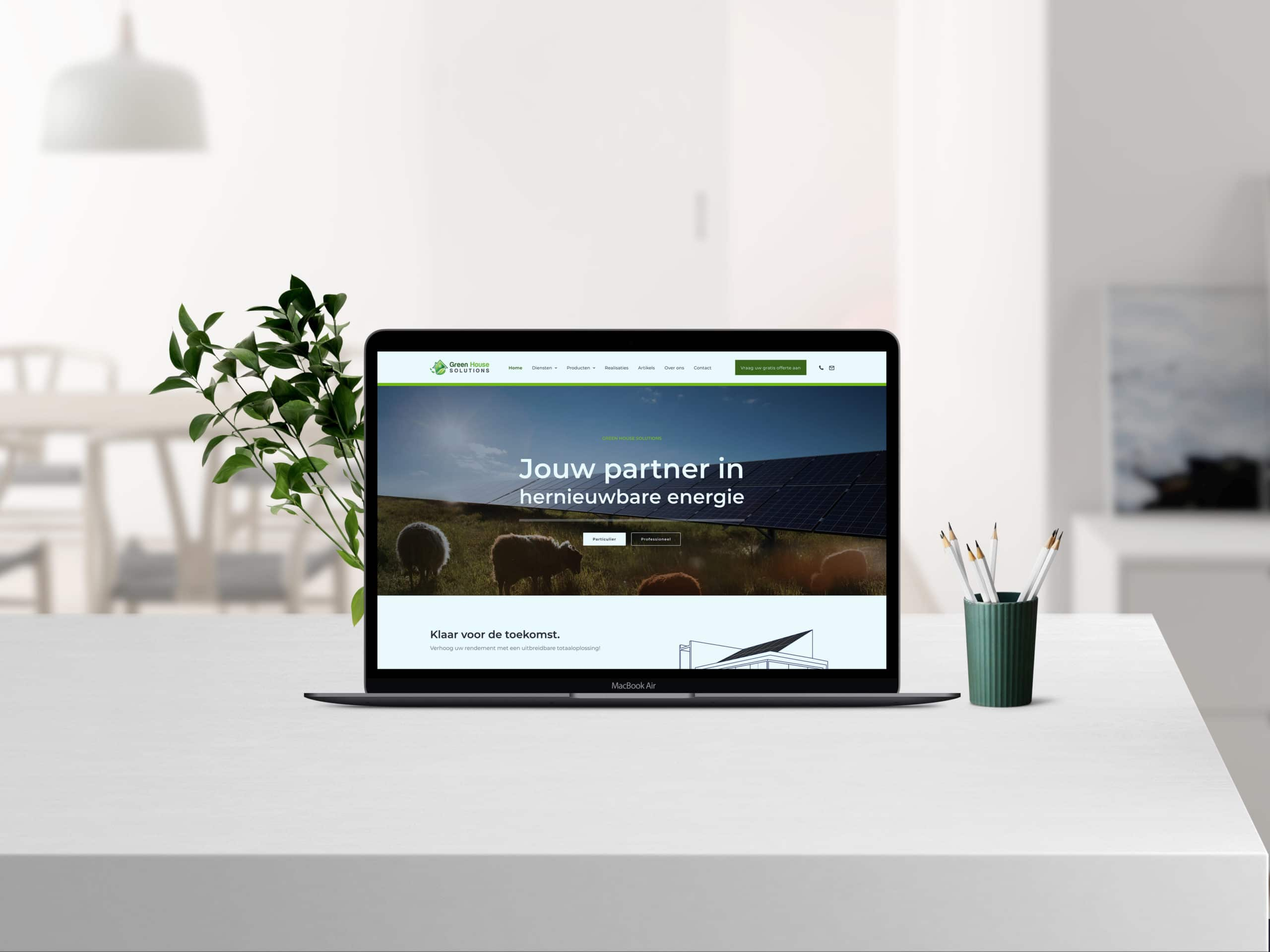 Joris Rottiers Green House Solutions website scaled